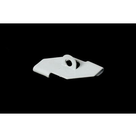 Undertaksfäste för vita aluminium profiler plattak