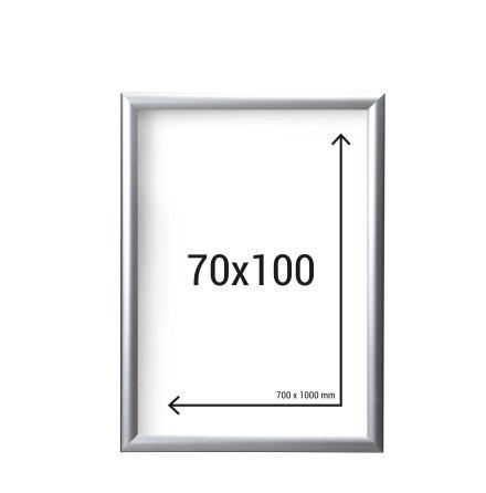 Aluminiumram 70x100 med 45mm ramprofil