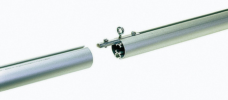 Tube connector qP with ring
