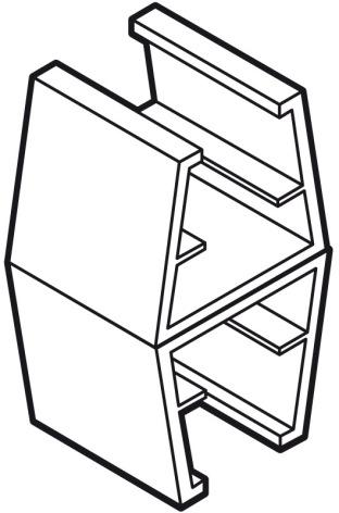 Sammanfogningsclips för ramar