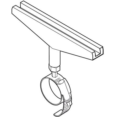 Rörhållare för ramar diameter max rör 25-40mm