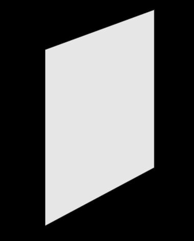 Plastfront Transp 70x100