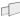 Rak list 60mm skumtejp Svart 1250mm