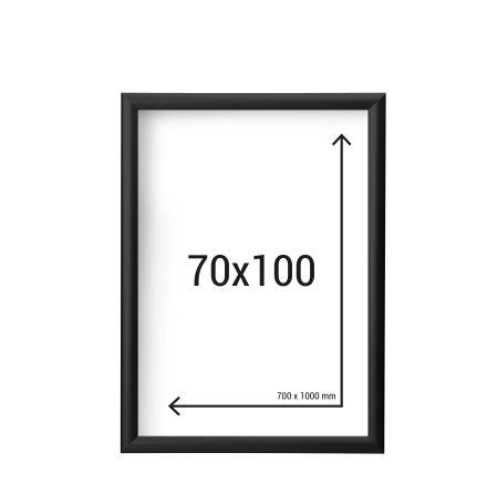 70x100 Ram Svart Regnsäker