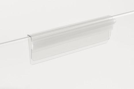 Glaskantshållare rak