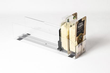 Pushertråg 450x145mm för Färdigskivad ost