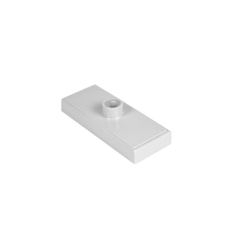 Magnetfäste Grått .100x40mm 2 magneter 12mm Rör