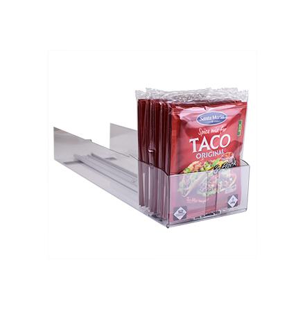 Tråg för Taco-Kryddmix samt Pålägg tunna skivor