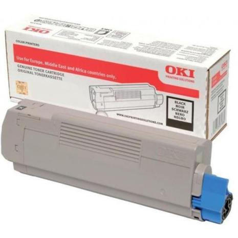 Toner Svart OKI MC563