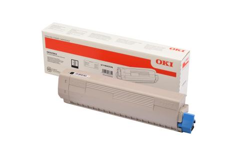 Toner Svart OKI C833/834