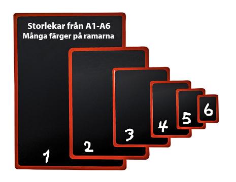 Plastram A5 - Olika färger