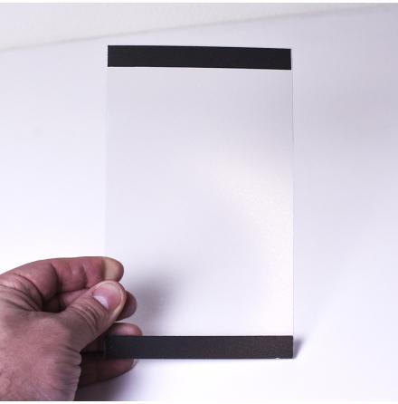 EasySign A6 med svart ram
