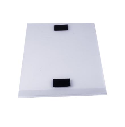 Plastficka A4 Stående med magnettejp
