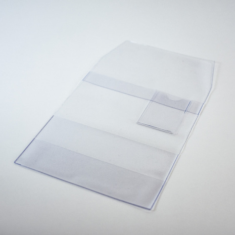 Bokomslag Transparent 205x140mm