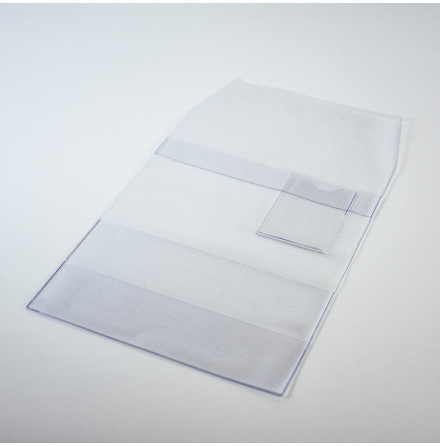 Bokomslag Transparent 230x160mm