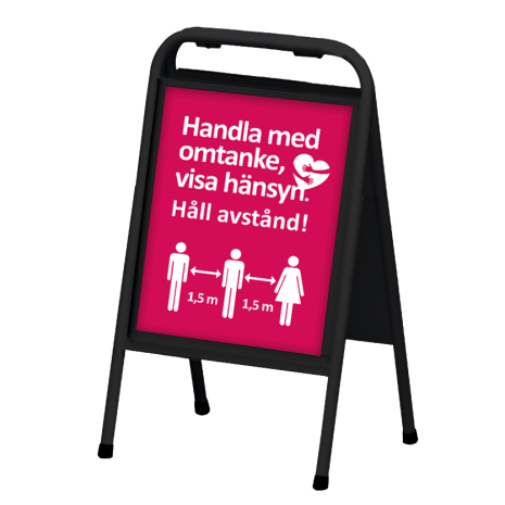 Mini Sign A3 Stående