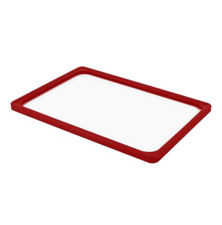 Plastram A4 röd