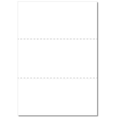 Hylletikett 99x210 (3-delad) Vit