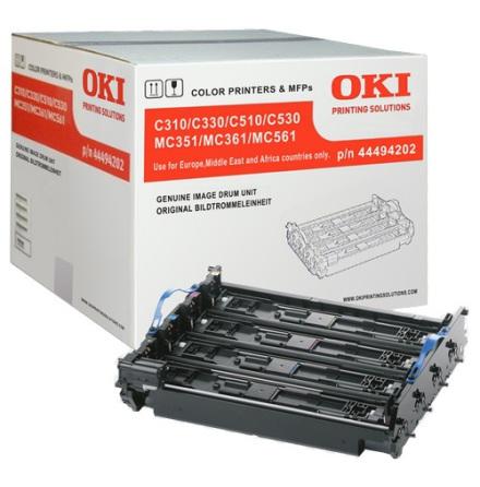 Trumkit 4 färger OKI 530/MC561/MC531